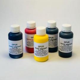 GPUR pigment Zelený neprůhledný 100g