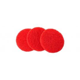 Osmo pad červený kulatý